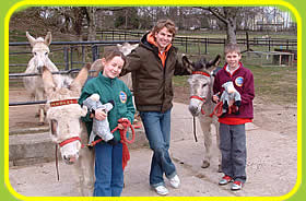 Visit the Donkey Bazaar Gift Shop at the Tamar Valley Donkey Park